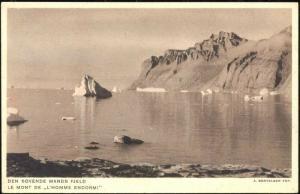 denmark, Greenland Grönland, Den Sovende Mands Fjeld (1930s) I
