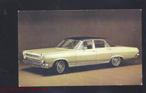 1968 MERCURY COMET CALIENTE ALLENTOWN PA. CAR DEALER ADVERTISING POSTCARD