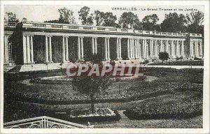 Old Postcard Versailles The Grand Trianon and Gardens