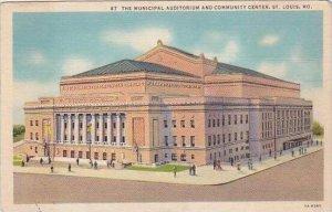 Missouri Saint Louis The Municipal Auditorium And Community Center
