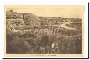 Old Fort Douaumont Postcard General view
