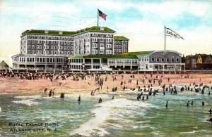 New Jersey Atlantic City Royal Palace Hotel 1915