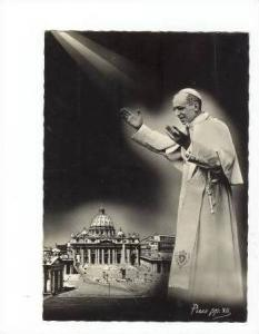 RP S.S. Pio XII, PU Vatican 1957