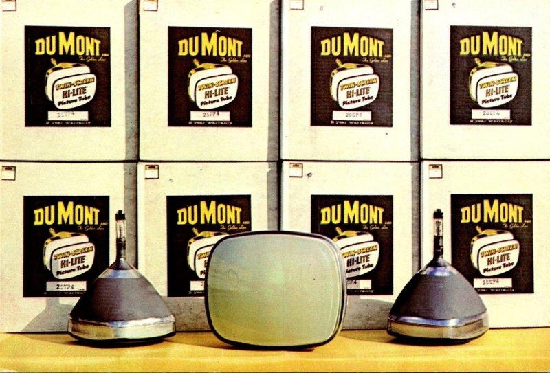Advertising DuMont Hi-Lite Picture Tubes