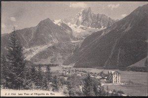 Switzerland Postcard - Les Praz Et l'Aiguille Du Dru  N132