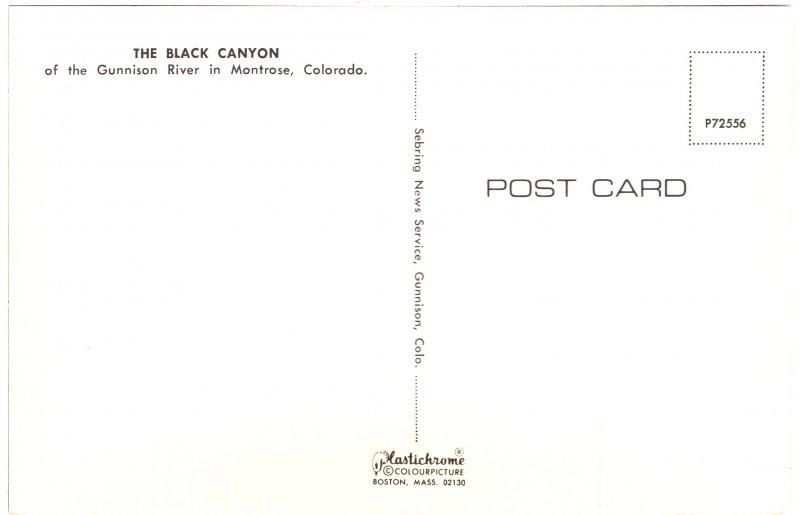 US    PC2729  BLACK CANYON, BLACK CANYON NATIONAL MONUMENT