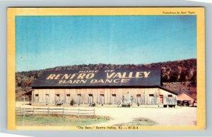 Renfro Valley KY-Kentucky, The Barn, Chrome Postcard