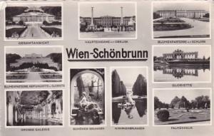 RP, Multi-Views, Schonbrunn, Wien (Vienna), Austria, 1920-1940s