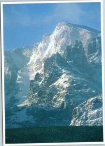 postcard CO - Rocky Mountain National Park - Snow Shrouded Taylor Peak