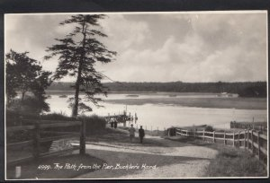 Hampshire Postcard - The Path From The Pier, Buckler's Hard A2664
