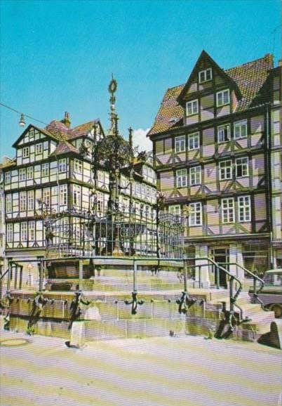 Germany Hannover Holzmarkt At The Timber Market