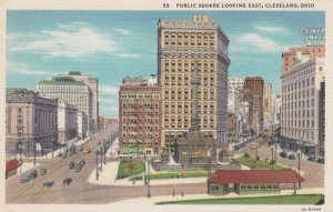 Cleveland , Ohio , 1910-30s ; Public Square Looking East