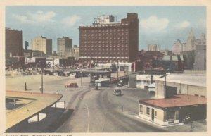 WINDSOR, Ontario, Canada, 1930s; Tunnel Plaza