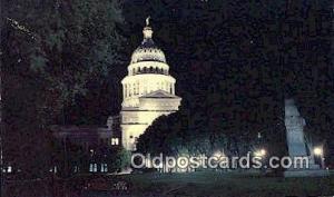 Austin, Texas, TX State Capital, Capitals Postcard Post Card USA Austin, Texa...