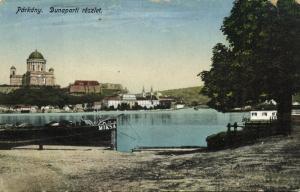 slovakia, PARKANY STUROVO, Dunaparti Reszlet (1910s)