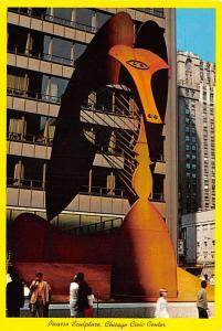 Picasso Sculpture - Chicago, Illinois