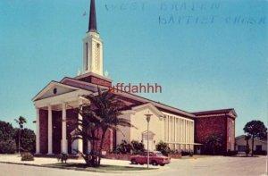 WEST BRADENTON BAPTIST CHURCH, BRADENTON, FL 1968