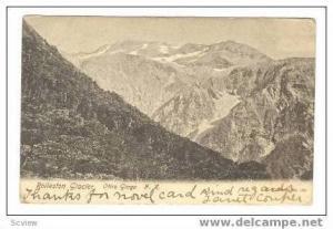 Rolleston Glacier, New Zealand, PU 1905