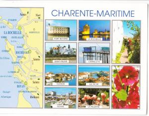 France, CHARENTE-MARITIME, used Postcard