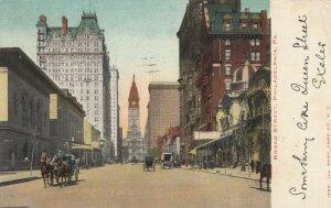 PHILADELPHIA, Pennsylvania, PU-1907; Broad Street