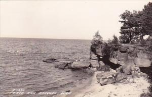 Point Aux Barque Michigan Real Photo