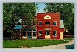 Richmond IN- Indiana, Bakery and Print Shop, Historical Museum, Chrome Postcard