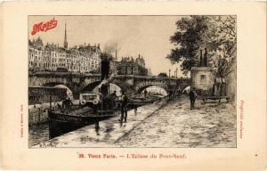 CPA PARIS (1e) L'Ecluse du Pont Neuf (564560)