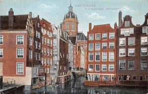 OZ Voorburgwal Het Kolkje Amsterdam Holland Stain on back
