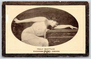 New York City~Truly Shattuck Broadway & Vaudeville Actress~Plexo Creams~c1912