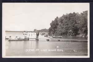 Scene at Lakewood Park,Arnold's Park,IA
