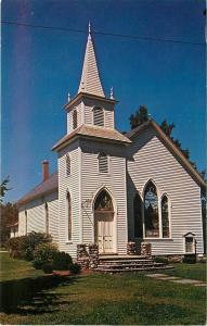 Swiftwater Pennsylvania~Methodist Church~1950s Postcard