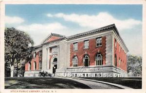 Utica Public Library Utica NY Unused