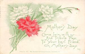 Indianapolis Indiana~Southern Avenue Baptist Church~Mothers' Day Service~1914 PC