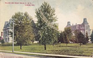Villard and Deady Halls, U of O, Eugene, Oregon, PU-1912