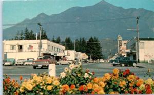 HOPE, British Columbia  B.C.  Canada   STREET SCENE  ca 1960s    Postcard