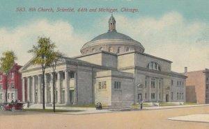 CHICAGO, Illinois, 1900-10s; 8th Church, Scientist, 44th and Michigan
