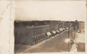 LP49 South Whitley Indiana Vintage Postcard RPPC