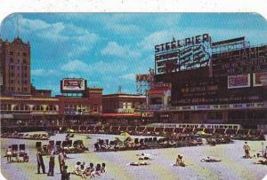 New Jersey Atlantic City Steel Pier With Its Many Attraction For Pleasure See...