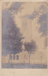 RP: New First M.E. Church , LANCASTER , Ohio , PU-1907