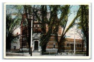 Postcard Post Office, Truro, Nova Scotia Canada 1924 G58