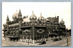 MITCHELL SD WORLD'S ONLY CORN PALACE ANTIQUE REAL PHOTO POSTCARD RPPC