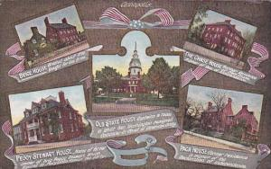 Brice House, The Chase House, Old State House , Peggy Stewart House , Paca Ho...