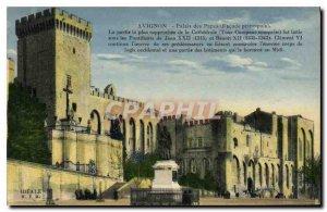 Postcard Old Avignon Popes' Palace fa?ade Main