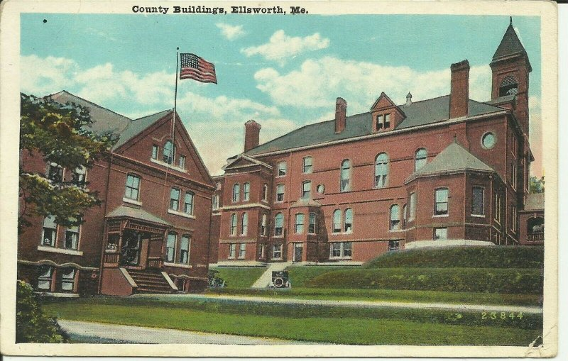 Ellsworth, Maine, County Buildings