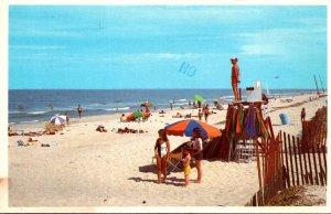 Virginia Virginia Beach Sunbathers Along The Beach 1982