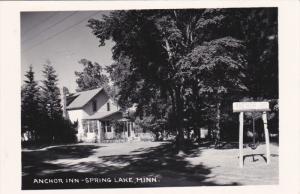 RP; Anchor Inn, SPRING LAKE, Minnesota, 1950s