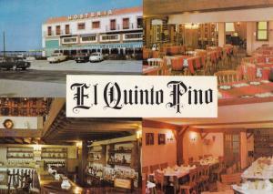Salamanca El Quinto Pino Spain Restaurant Spanish Roadside Diner 1980s Postcard