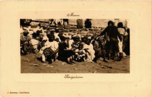 CPA Senegalaises MAROC (825397)