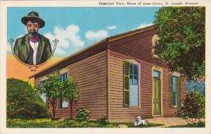 Historical View Jesse James Home Saint Joseph Missouri
