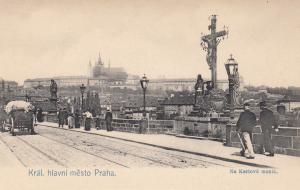 KRAL. hlavni mesto Praha, Czechoslovakia , 00-10s ; Na Karlove moste